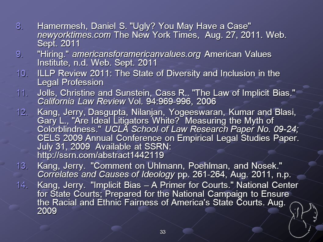 Hamermesh, Daniel S. Ugly. You May Have a Case newyorktimes
