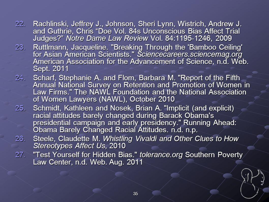 Rachlinski, Jeffrey J. , Johnson, Sheri Lynn, Wistrich, Andrew J