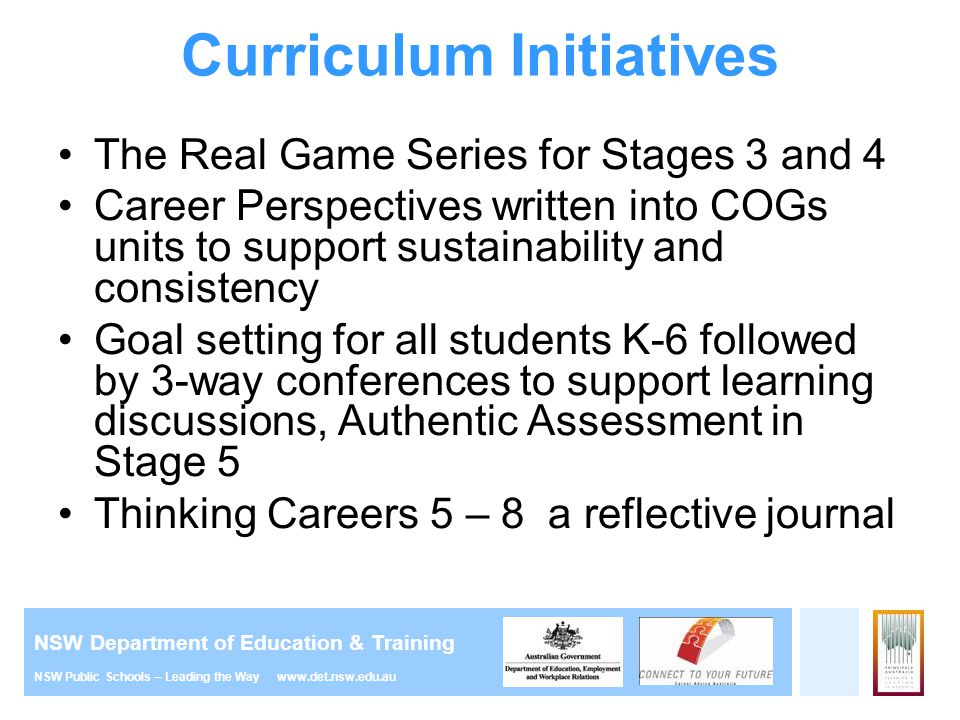 Curriculum Initiatives
