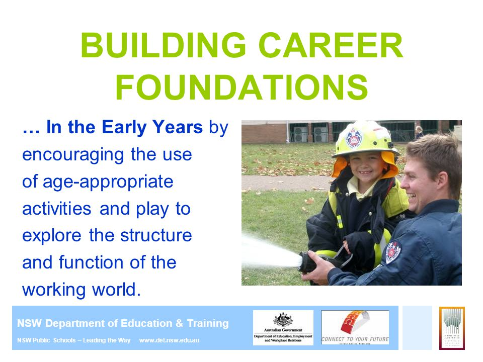 BUILDING CAREER FOUNDATIONS