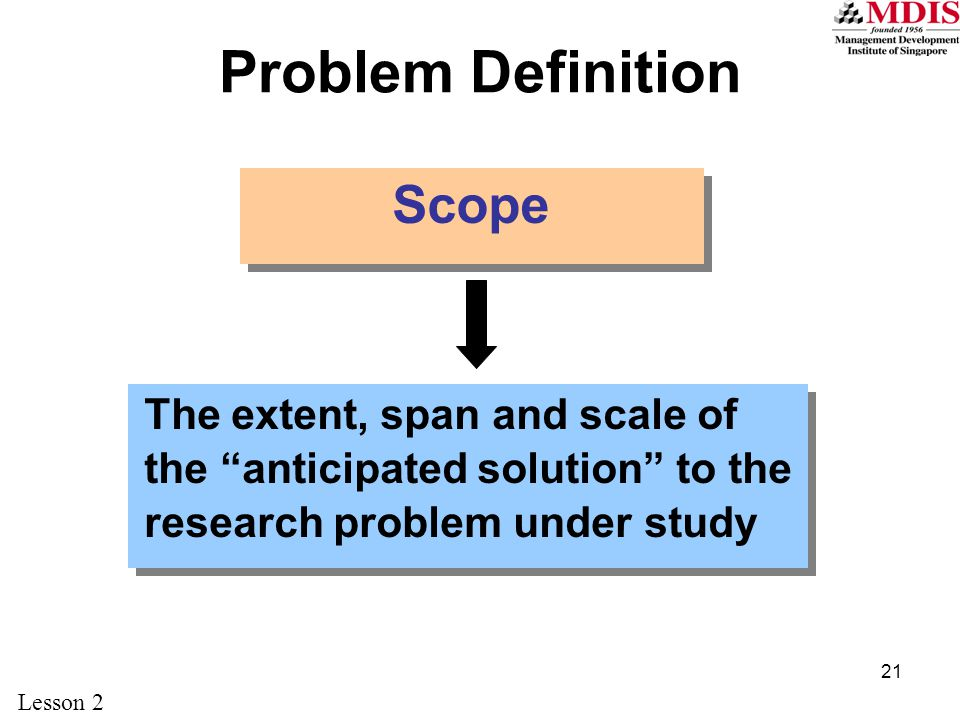 definition of research problem pdf