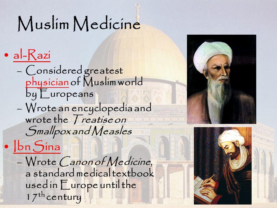 Muslim Medicine al-Razi Ibn Sina