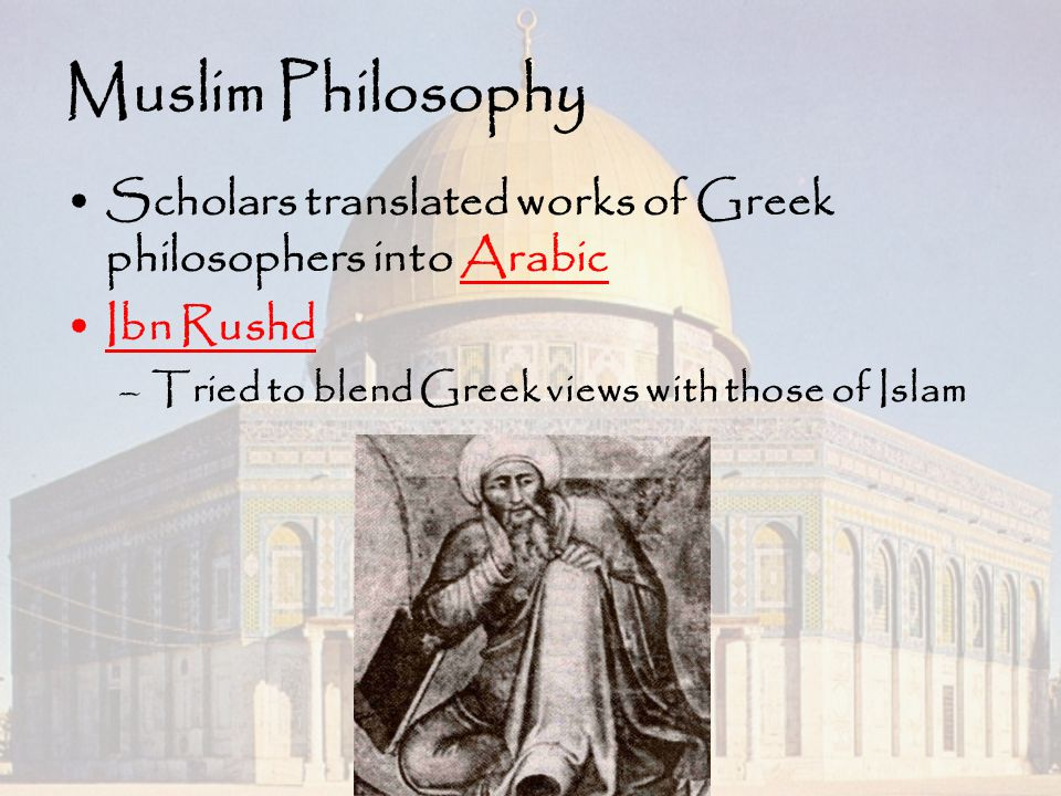 Greek Sources in Arabic and Islamic Philosophy