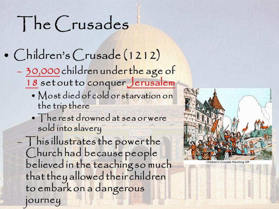 The Crusades Children's Crusade (1212)