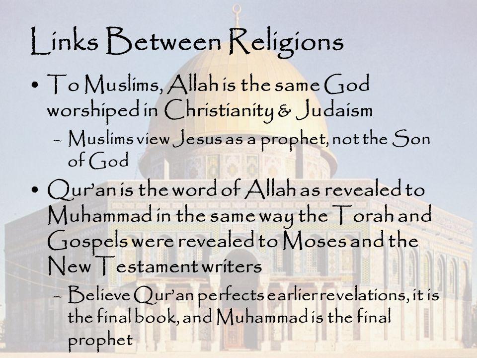 Links Between Religions