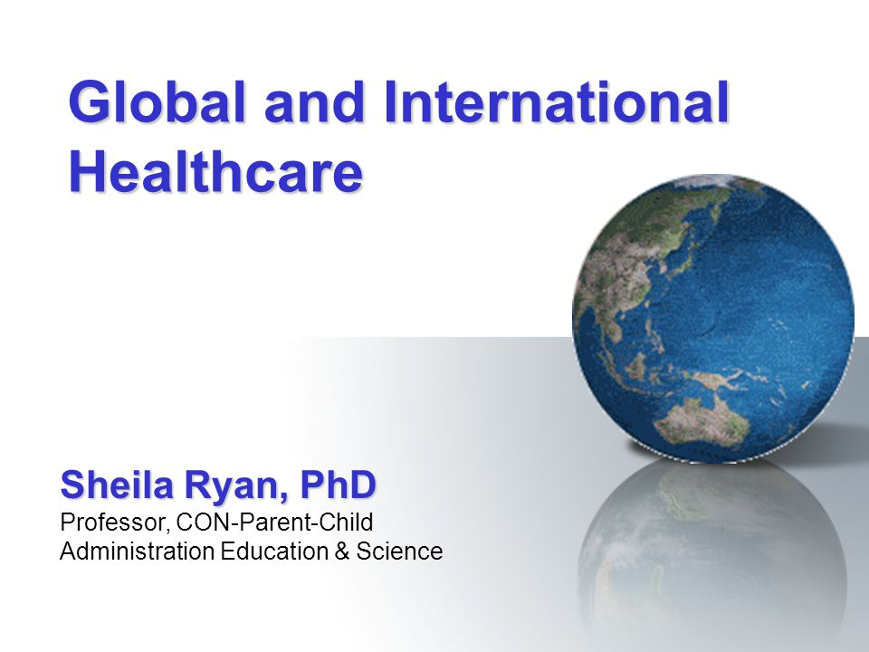 Global and International Healthcare