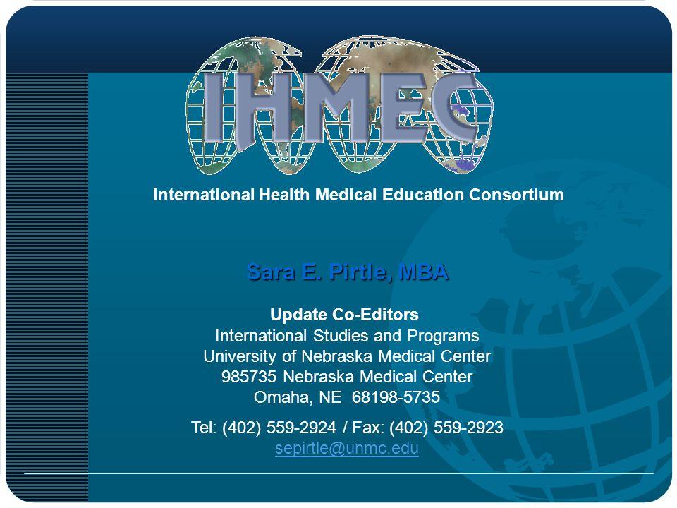 Tel: (402) 559-2924 / Fax: (402) 559-2923 sepirtle@unmc.edu
