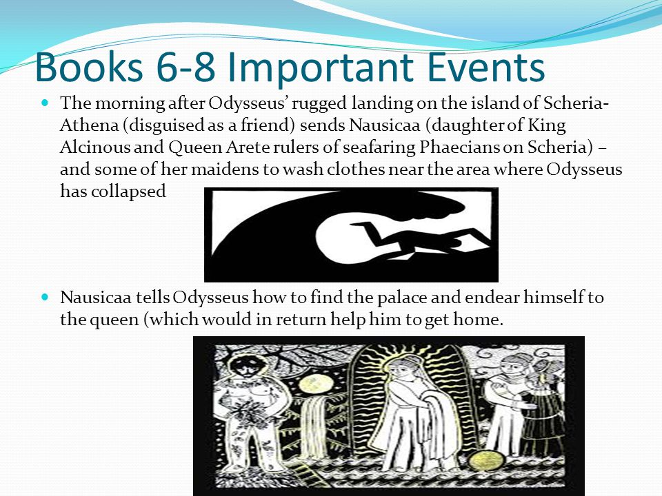 Books 6-8 Important Events