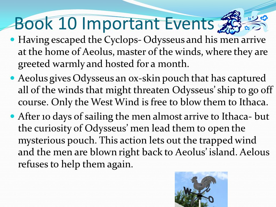 Book 10 Important Events