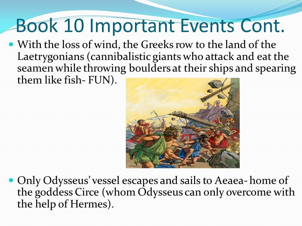 Book 10 Important Events Cont.