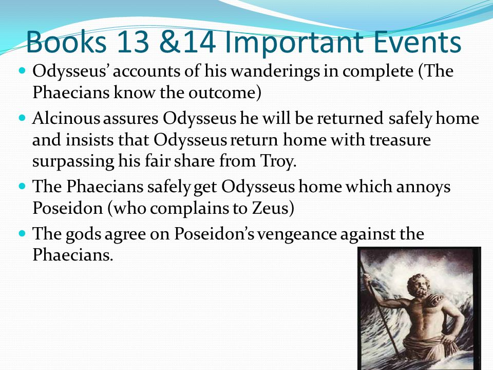 Books 13 &14 Important Events
