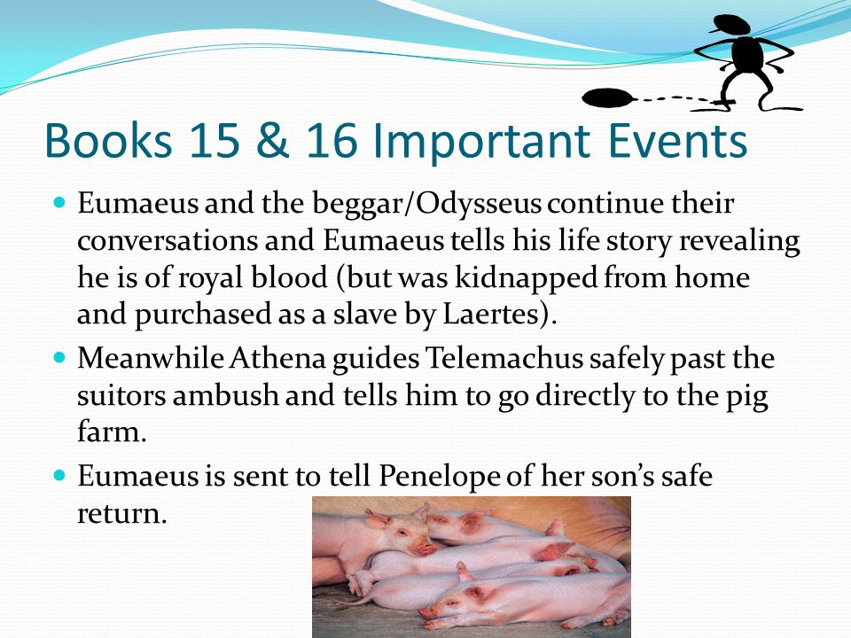 Books 15 & 16 Important Events
