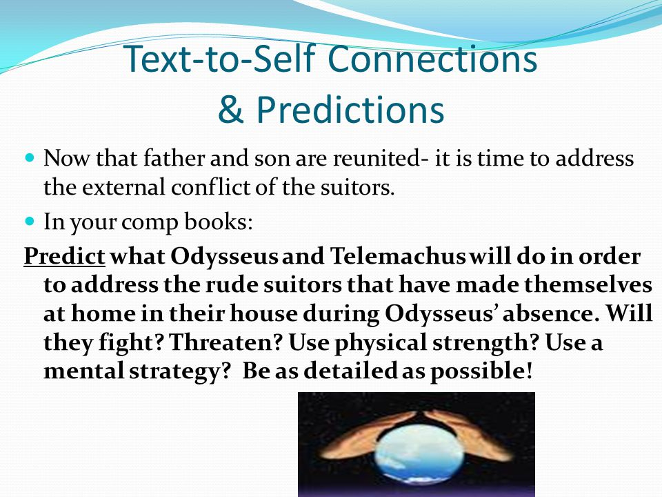 Text-to-Self Connections & Predictions