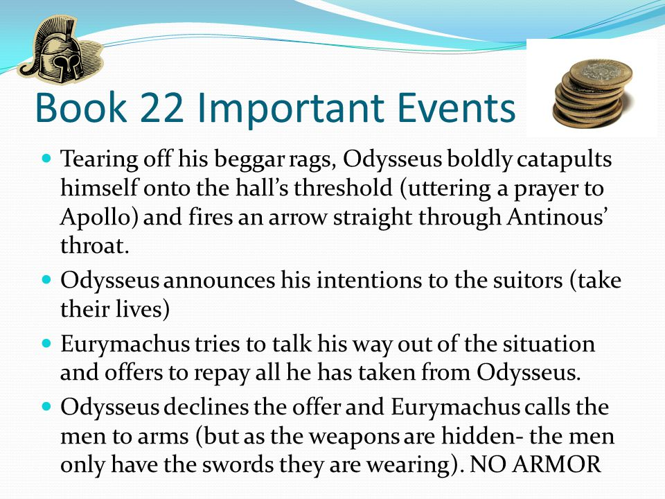 Book 22 Important Events