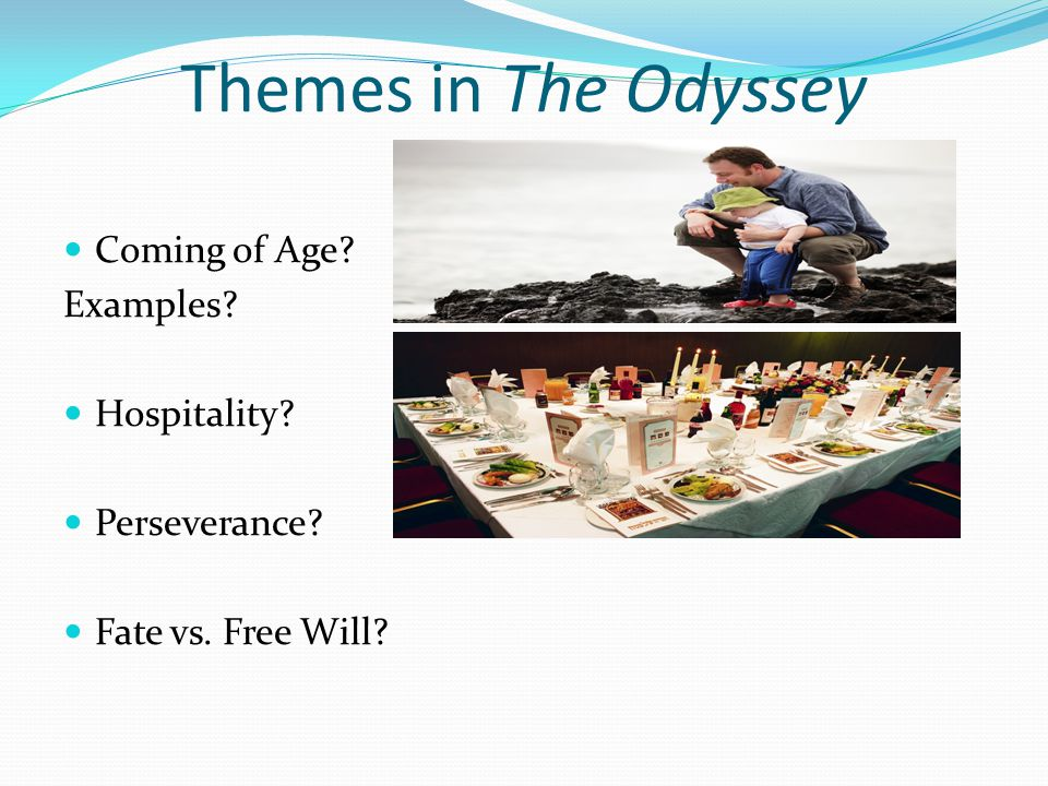 Themes in The Odyssey Coming of Age Examples Hospitality