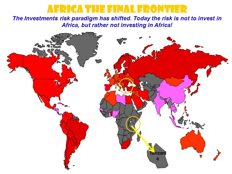 AFRICA THE FINAL FRONTIER