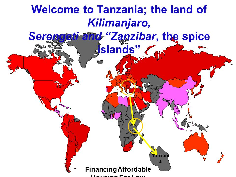 Welcome to Tanzania; the land of Kilimanjaro,