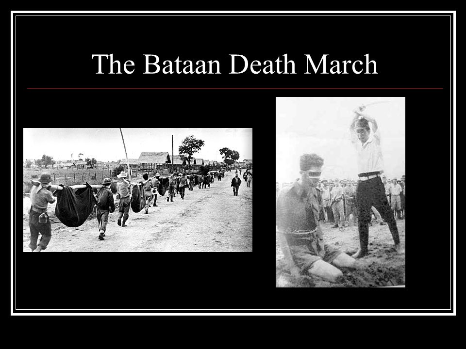 The Bataan Death March