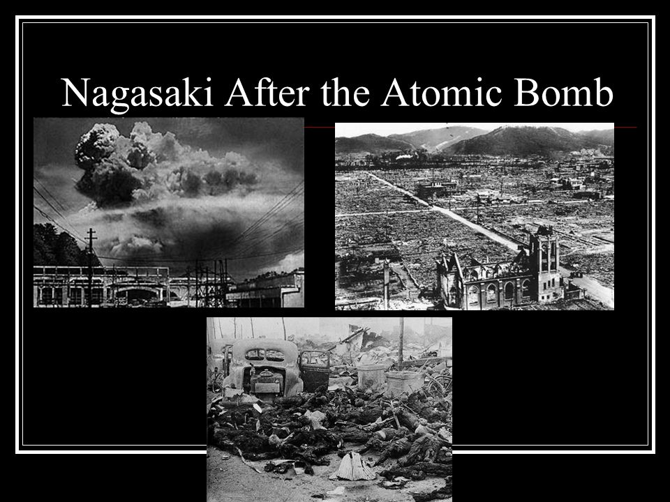 Nagasaki After the Atomic Bomb