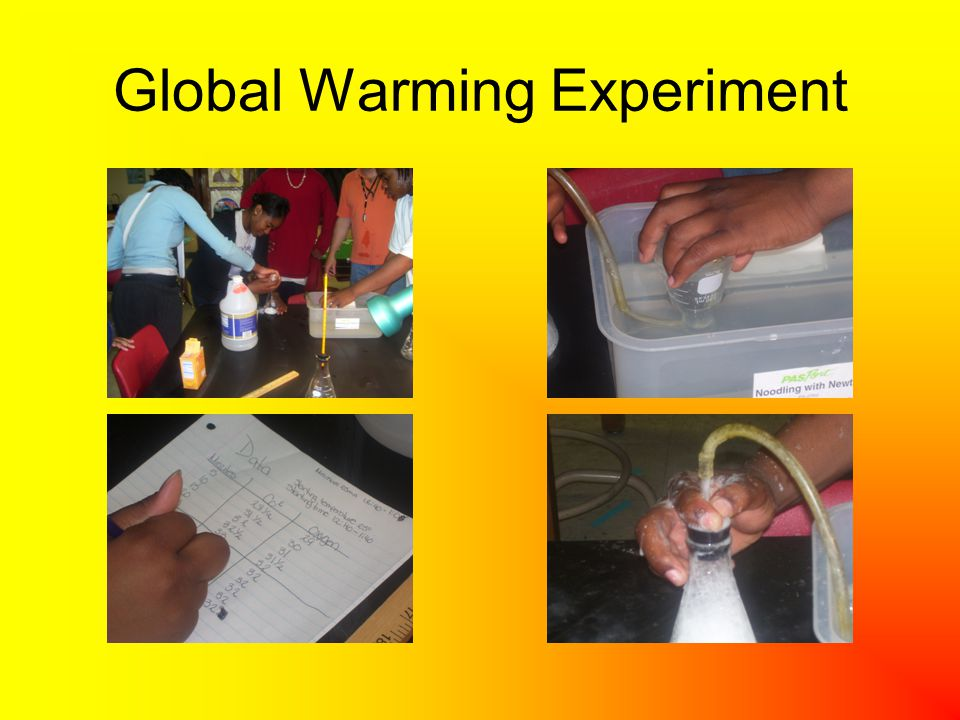 Global Warming Experiment