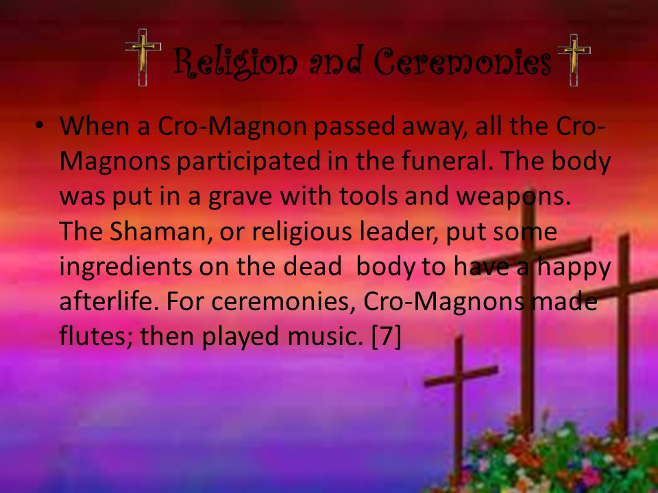 Religion and Ceremonies