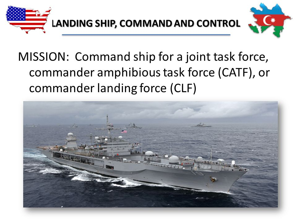 LANDING SHIP, COMMAND AND CONTROL