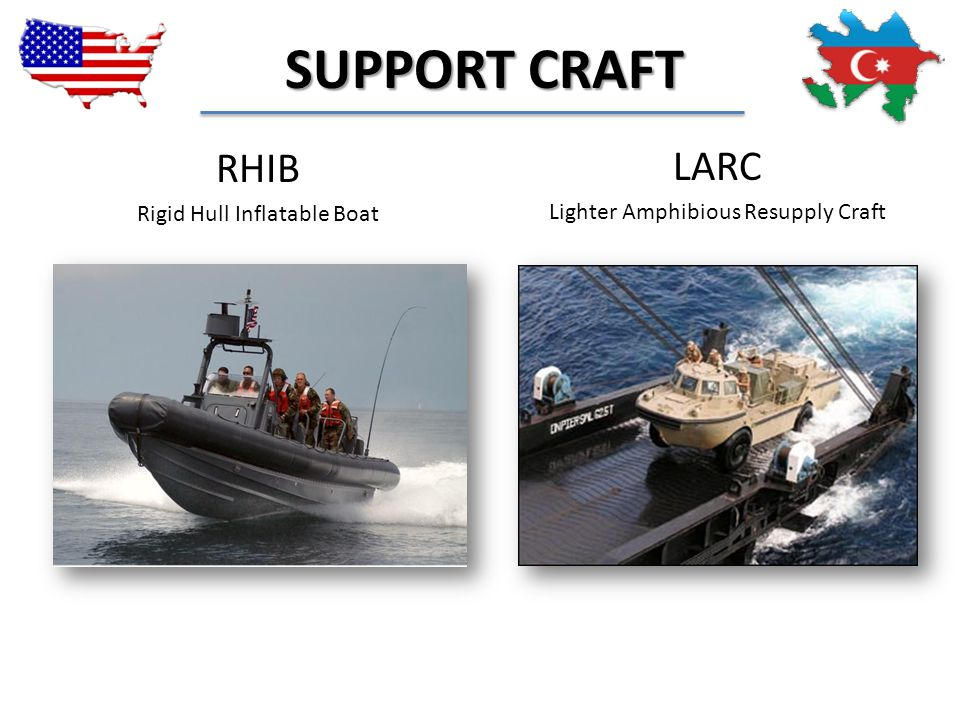 SUPPORT CRAFT RHIB LARC Rigid Hull Inflatable Boat