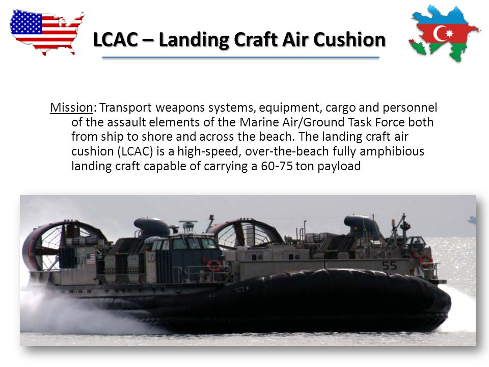 LCAC – Landing Craft Air Cushion