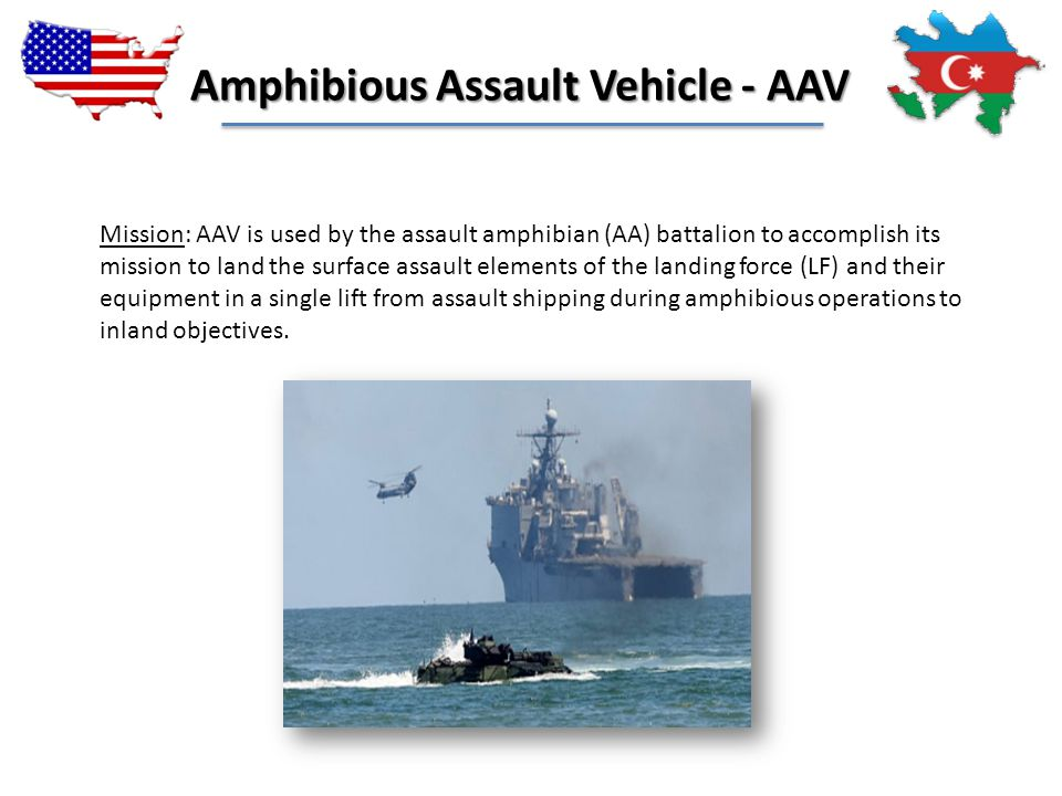 Amphibious Assault Vehicle - AAV