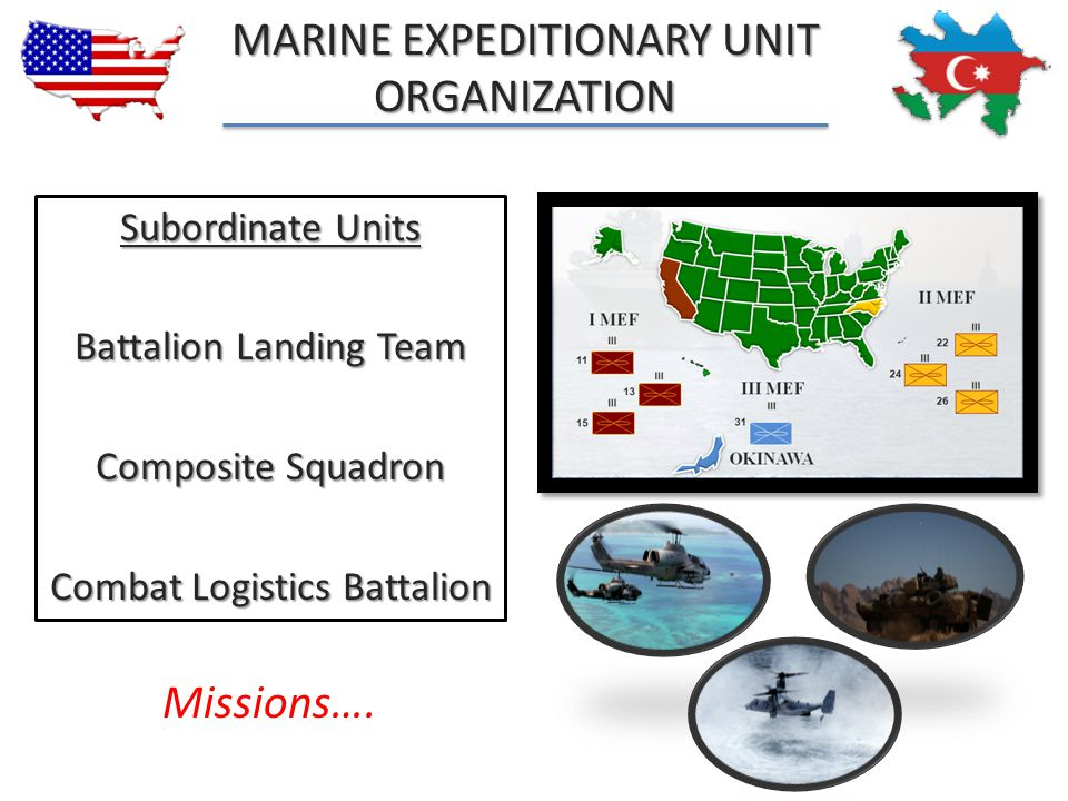 Marine expeditionary unit Organization