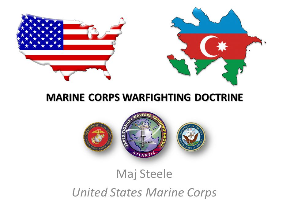 marine corps WARFIGHTING DOCTRINE