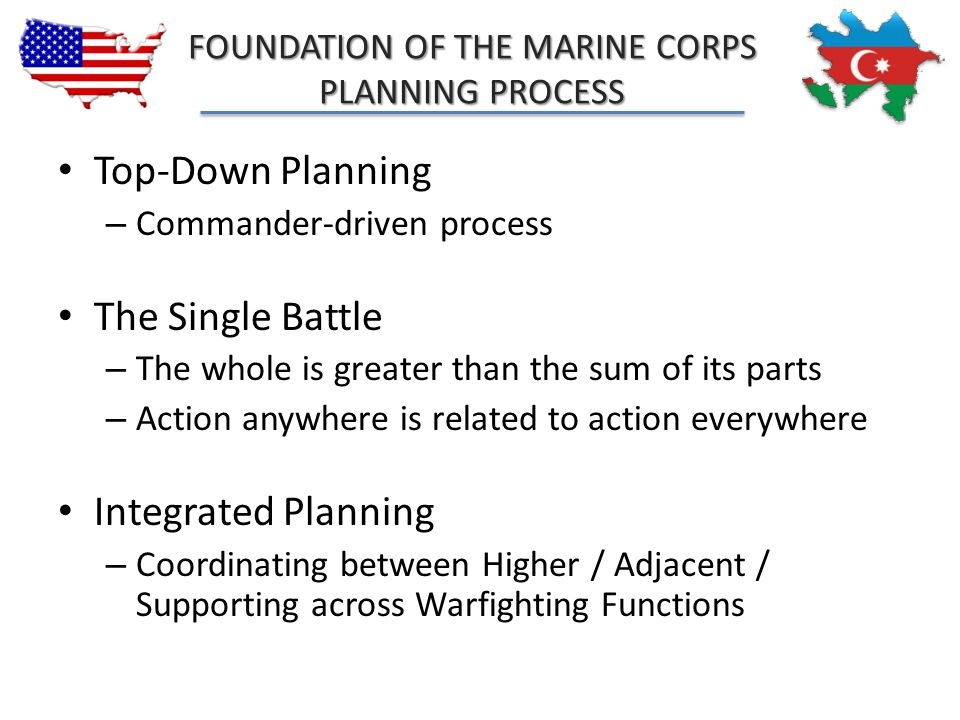 FOUNDATION OF THE MARINE CORPS
