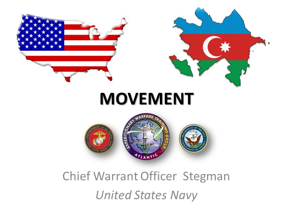Chief Warrant Officer Stegman United States Navy