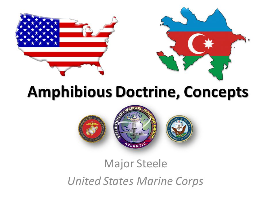 Amphibious Doctrine, Concepts