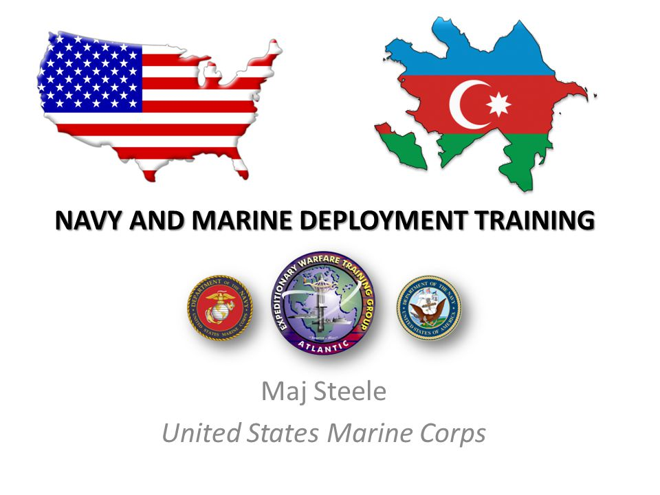 Navy and marine deployment training