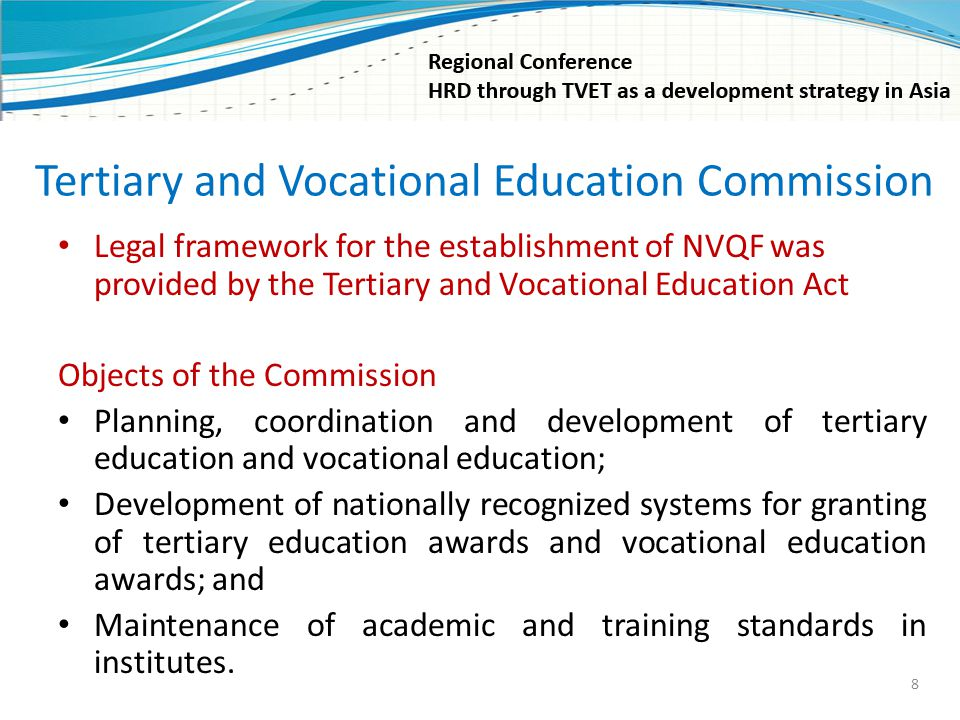 Tertiary and Vocational Education Commission