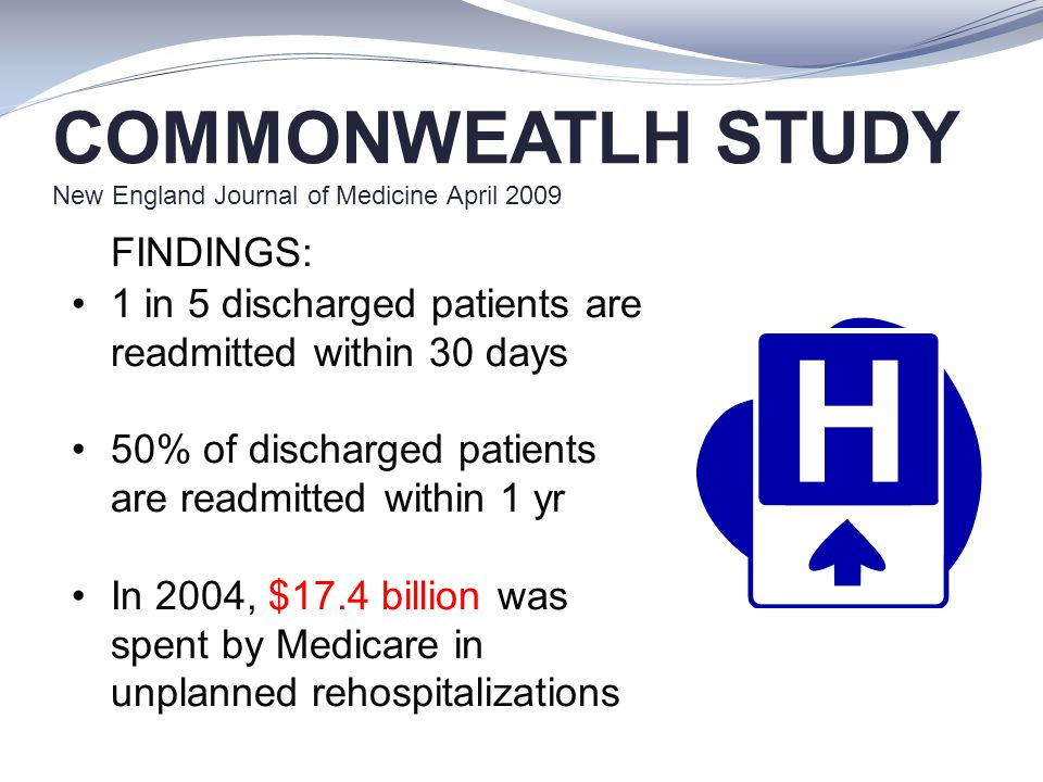 COMMONWEATLH STUDY New England Journal of Medicine April 2009