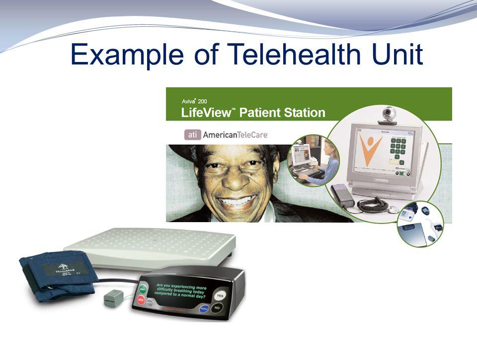 Example of Telehealth Unit