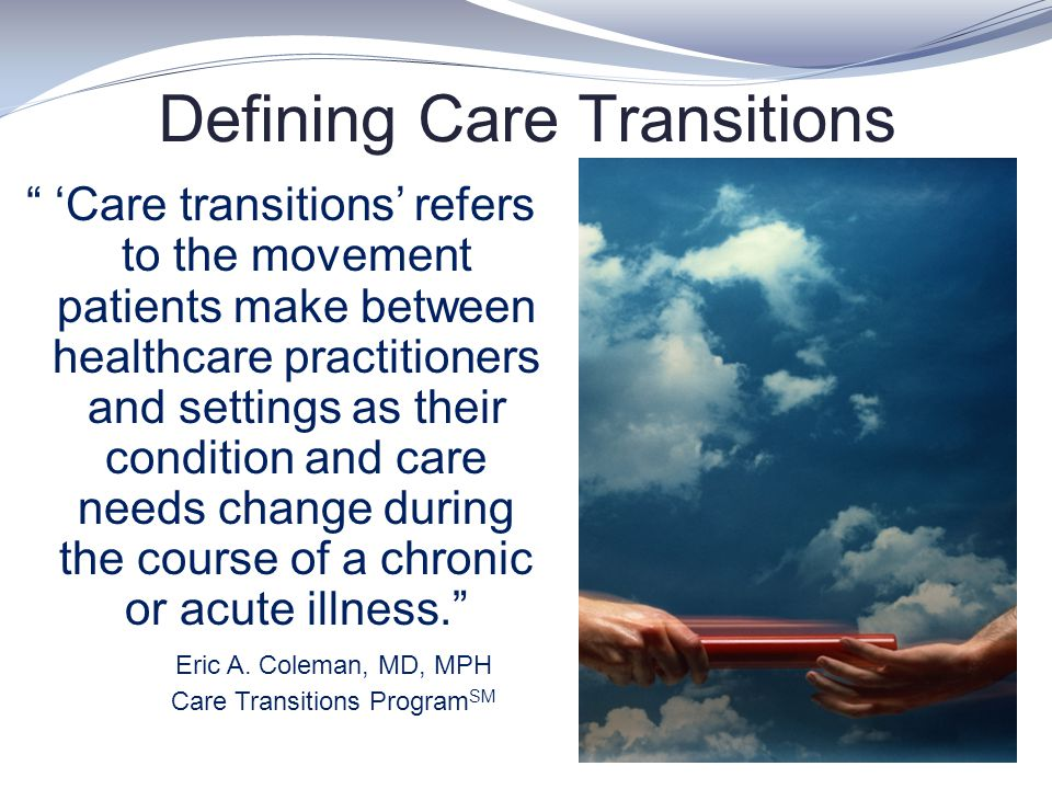 Defining Care Transitions
