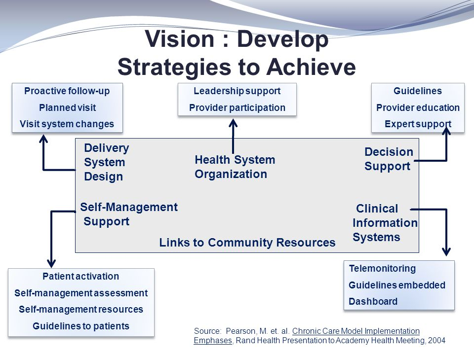 Vision : Develop Strategies to Achieve Clinical Information Systems