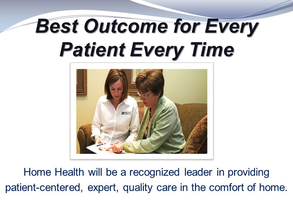 Best Outcome for Every Patient Every Time