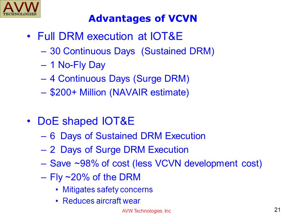 Full DRM execution at IOT&E