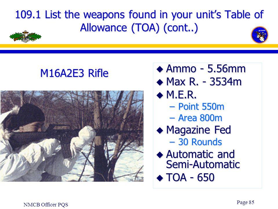 Automatic and Semi-Automatic TOA - 650 M16A2E3 Rifle