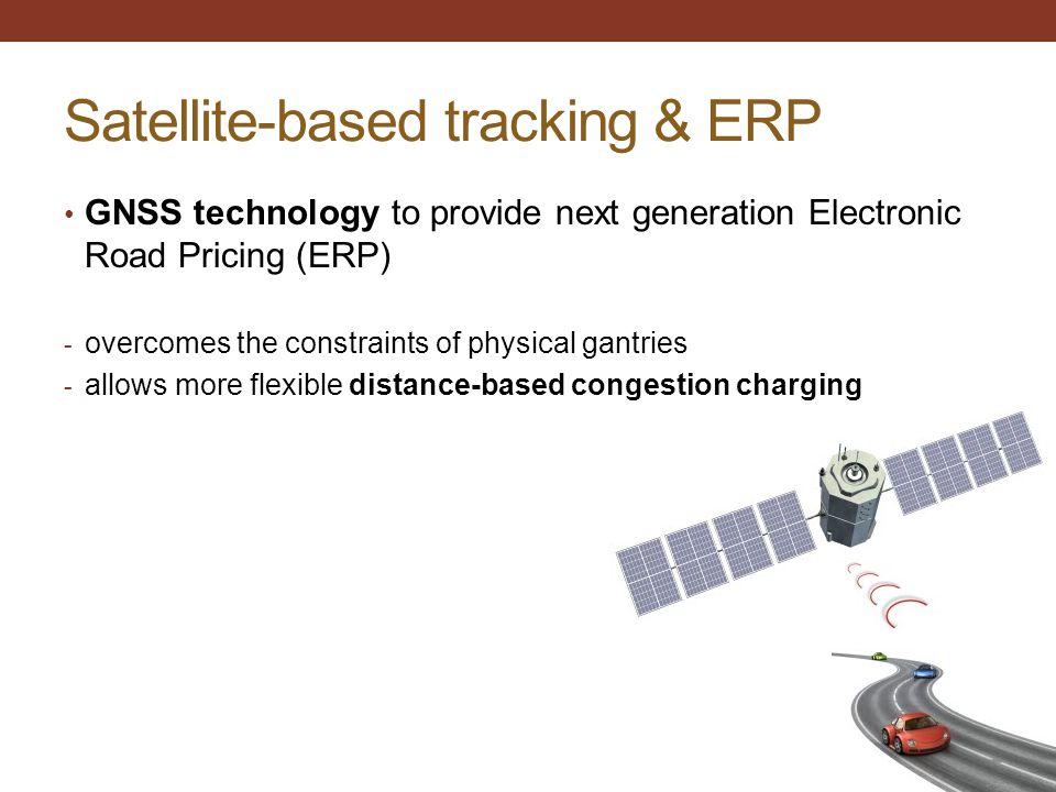 Satellite-based tracking & ERP