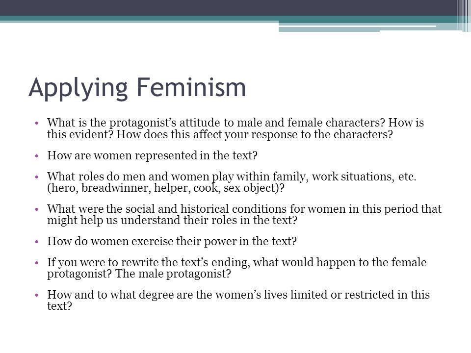 Applying Feminism