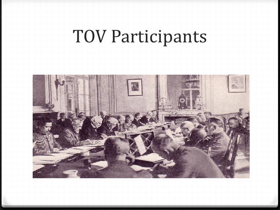 TOV Participants