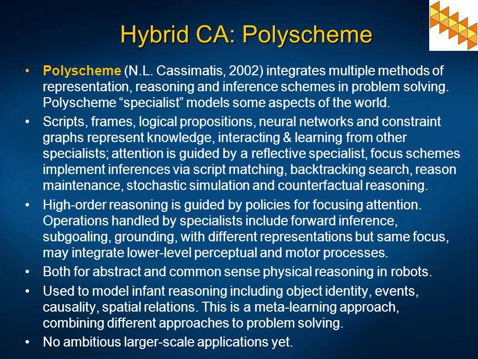 Hybrid CA: Polyscheme
