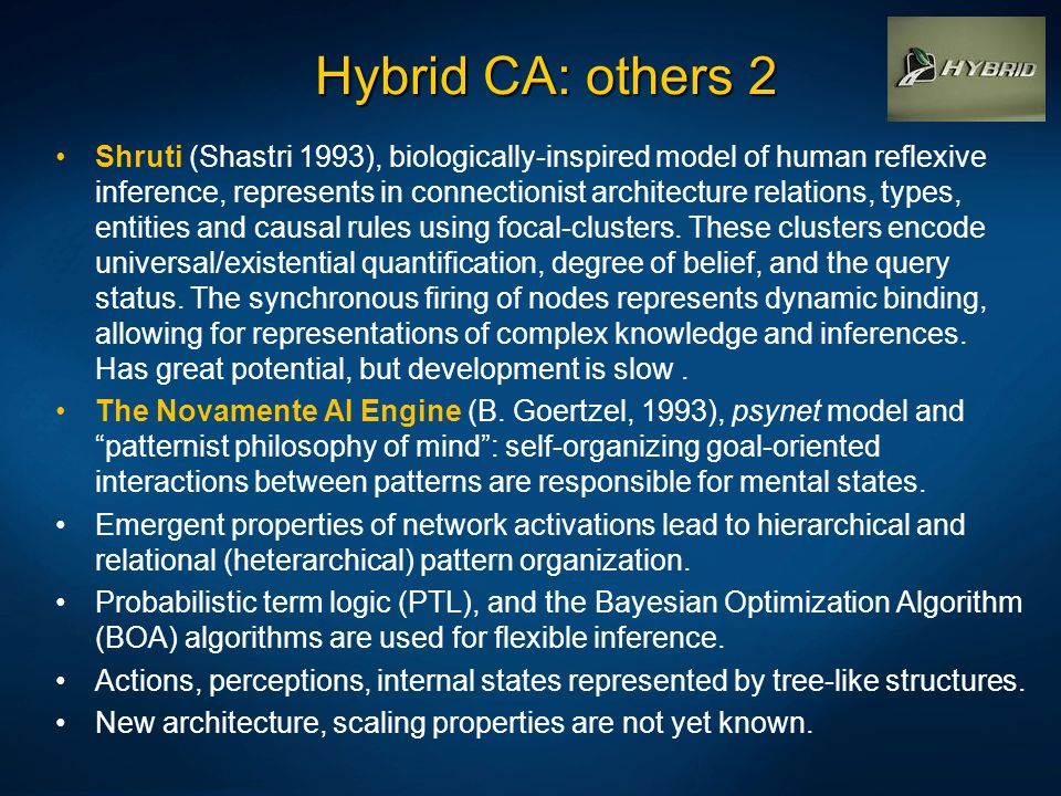Hybrid CA: others 2