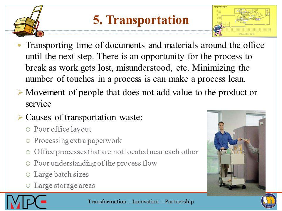 5. Transportation