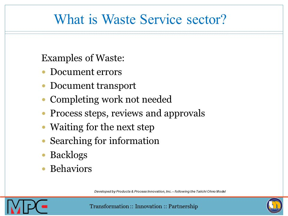 What is Waste Service sector